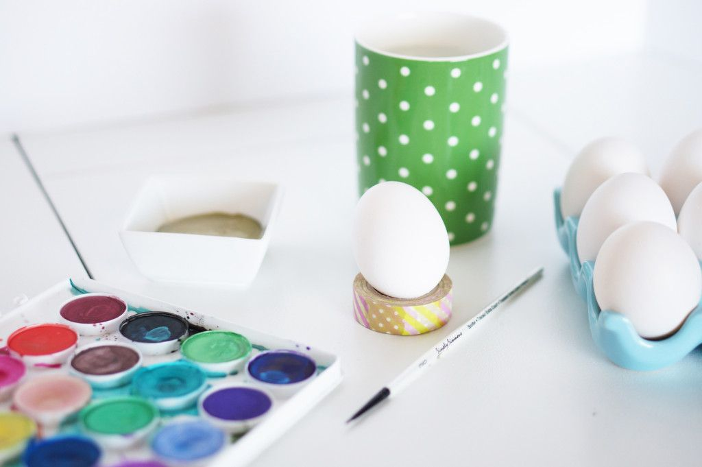 Hand Painted Easter Eggs Inspired By Day Designer