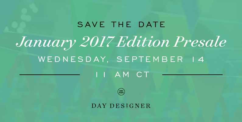 Save the Date | 2017 Flagship Edition Launches on September 14th!