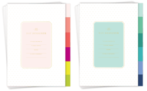 Day Designer - A5 Luxe Collection - 2017 Starter Packs - Planner Inserts
