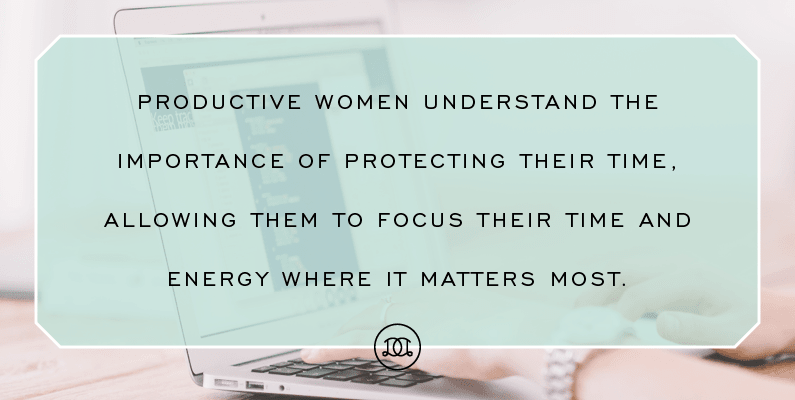 7 Personality Traits Of Highly Productive Women