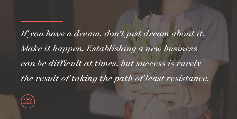 If you have a dream, don't just dream about it. Make it happen. Establishing a new business can be difficult at times, but success is rarely the result of taking the path of least resistance. | Day Designer