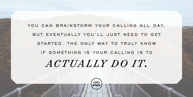 How to Find + Embrace Your Personal Calling