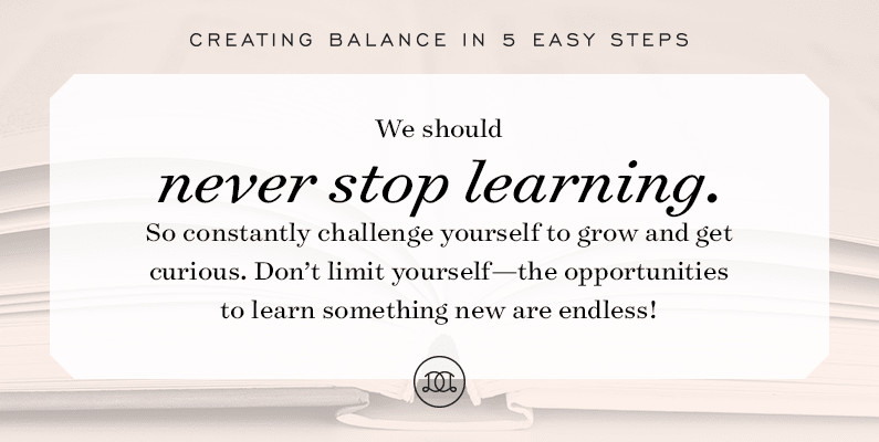 Creating Balance: How to Achieve Personal Growth
