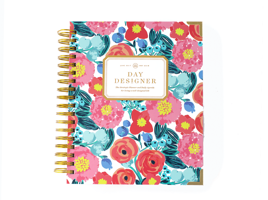 Day Designer | Midyear Flagship Edition | 2017-18 Planner | Bloom Where You're Planted