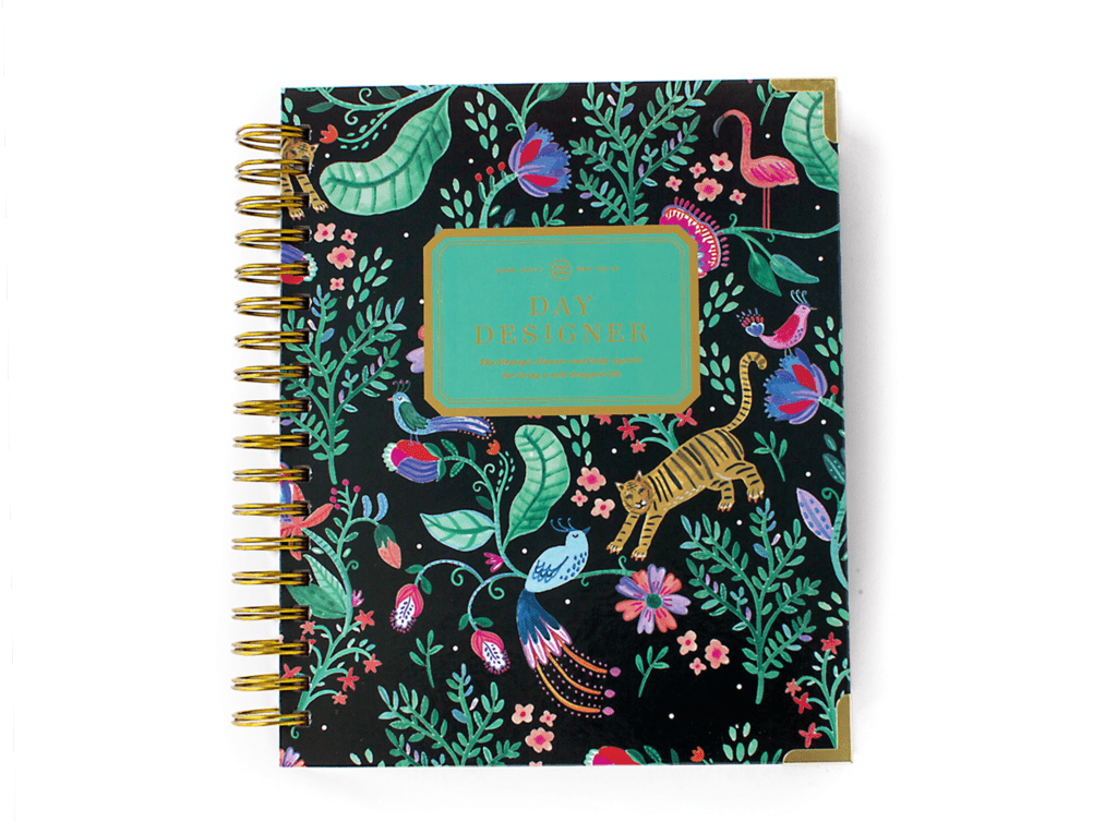 Day Designer | Midyear Flagship Edition | 2017-18 Planner | It's A Jungle Out There!