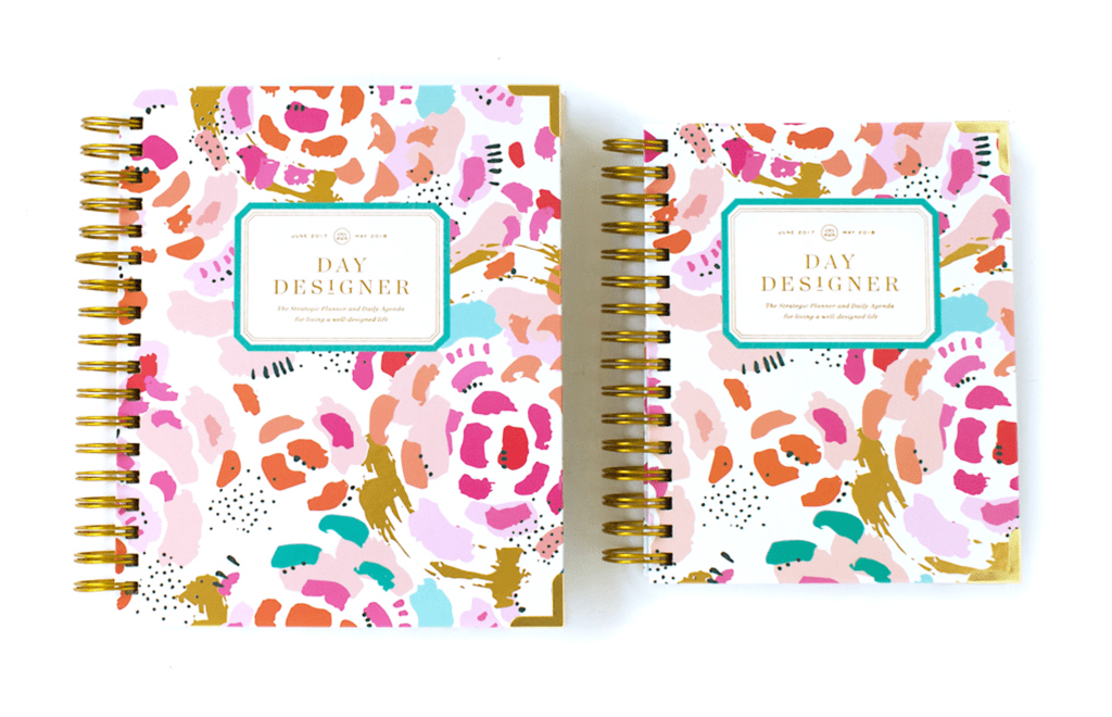 Day Designer | Midyear Flagship Edition | 2017-18 Planner | Painterly Floral