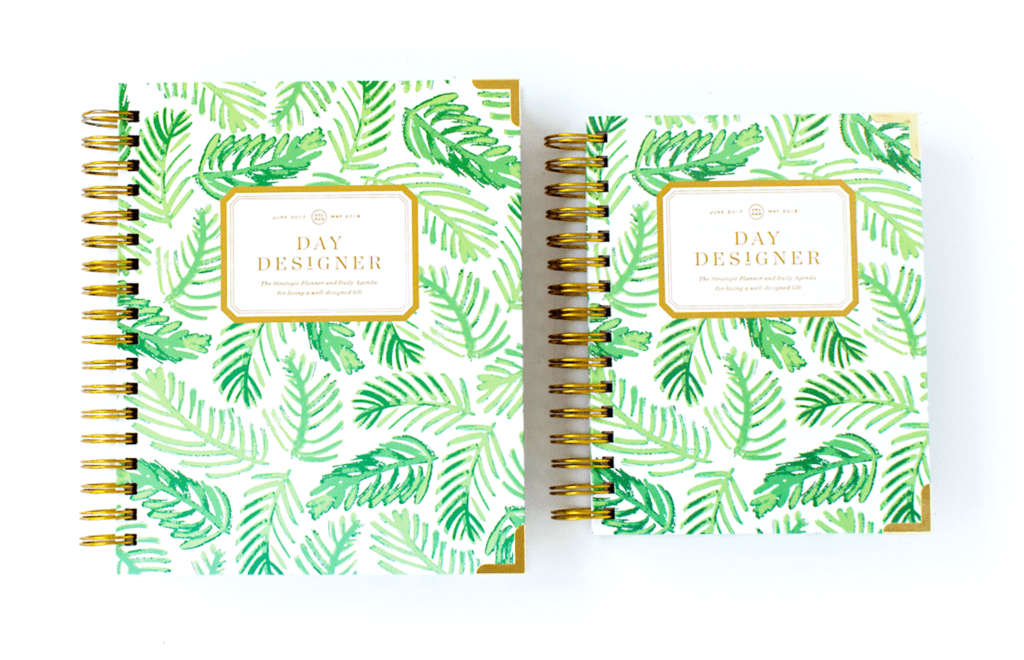 Day Designer | Midyear Flagship Edition | 2017-18 Planner | Palm