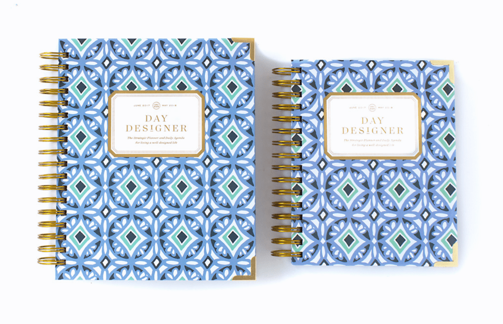 Day Designer | Midyear Flagship Edition | 2017-18 Planner | Blue Tile