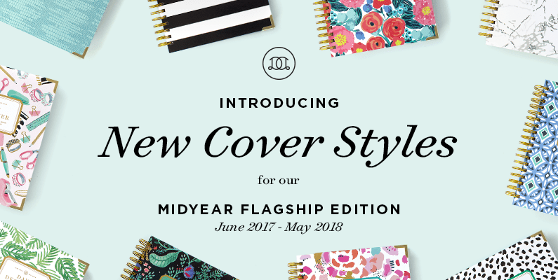 Day Designer Midyear Flagship Edition | Cover Reveal