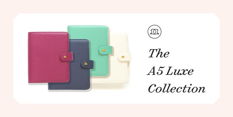 The A5 Luxe Collection | Day Designer
