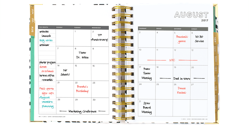 6 Steps To Setting Up Your New Planner | Day Designer