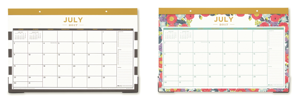 Desk Pad Calendars | Day Designer for Blue Sky