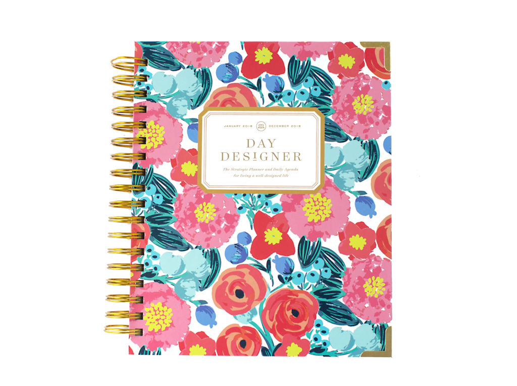 Day Designer Flagship Edition | 2018 Daily Planner | Bloom Where You're Planted