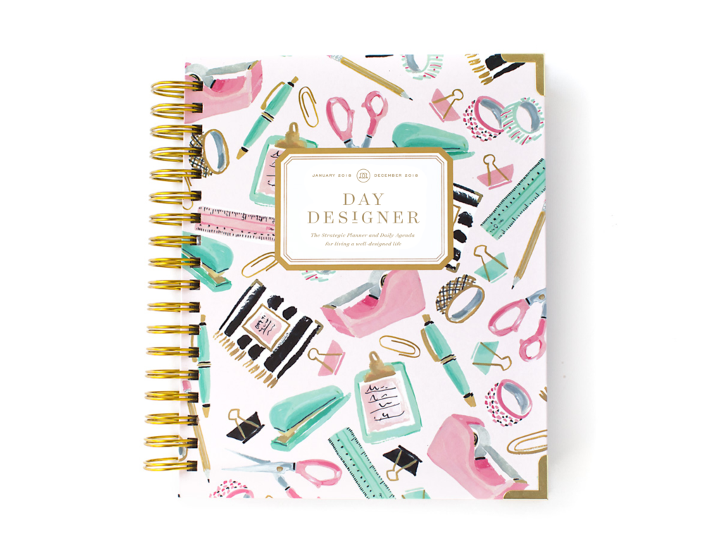 Day Designer Flagship Edition | 2018 Daily Planner | Desk Bliss