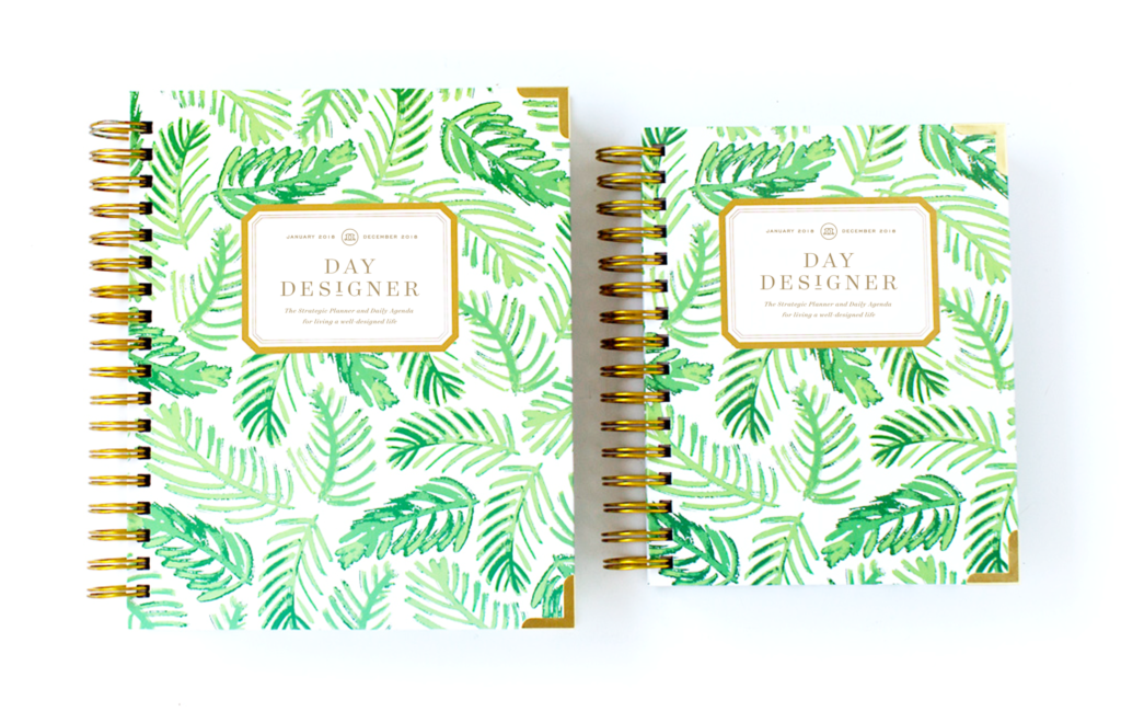 Day Designer Flagship + Mini | 2018 Daily Planner | Palm