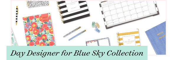 Day Designer for Blue Sky Collection