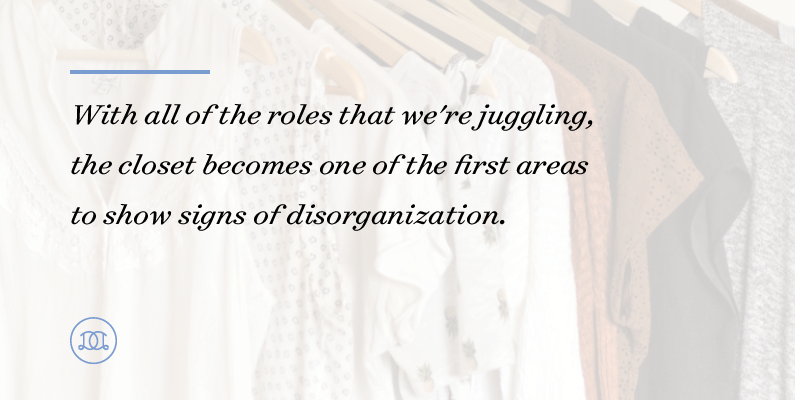 5 Steps for Organizing Your Clothing Situation