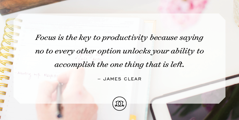 3 Simple Ways to Manage Your Focus and Increase Your Productivity Starting Today