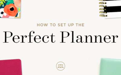 How to Set Up the Perfect Planner