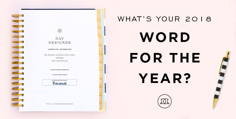 What's Your Word for the Year?