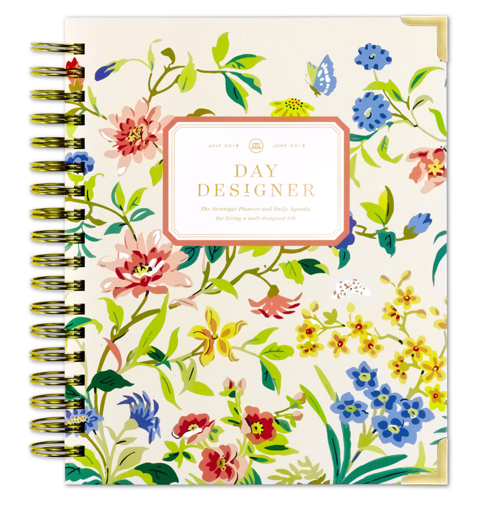 Day Designer Flagship Daily Planner | Climbing Floral