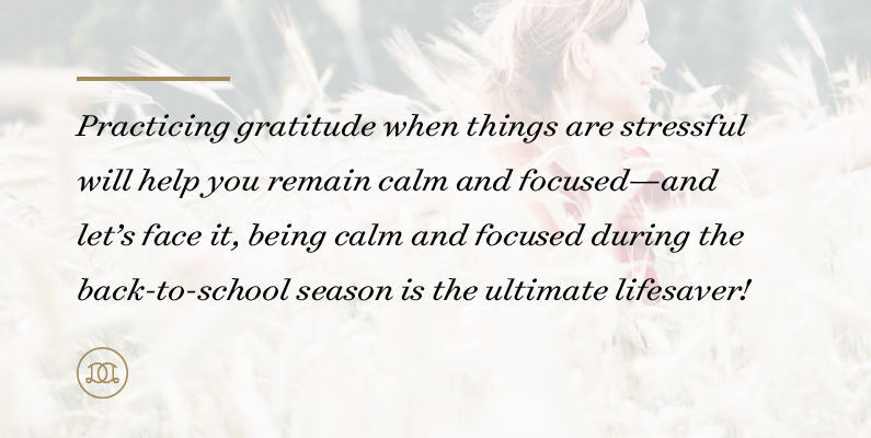 How to Include Gratitude in Your Daily Life This School Year