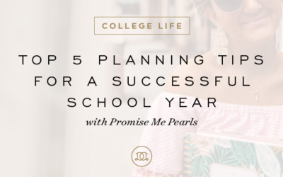 Top 5 Planning Tips for a Successful School Year