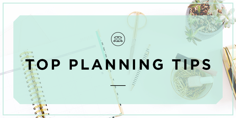 Top Planning Tips To Help You Design Your Days