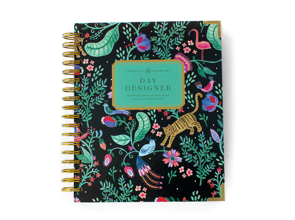 Day Designer Flagship Edition | 2018 Daily Planner | Jungle Out There!