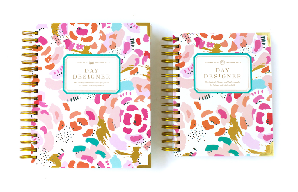 Day Designer Flagship + Mini | 2018 Daily Planner | Painterly Floral