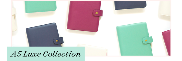 A5 Luxe Collection | Day Designer