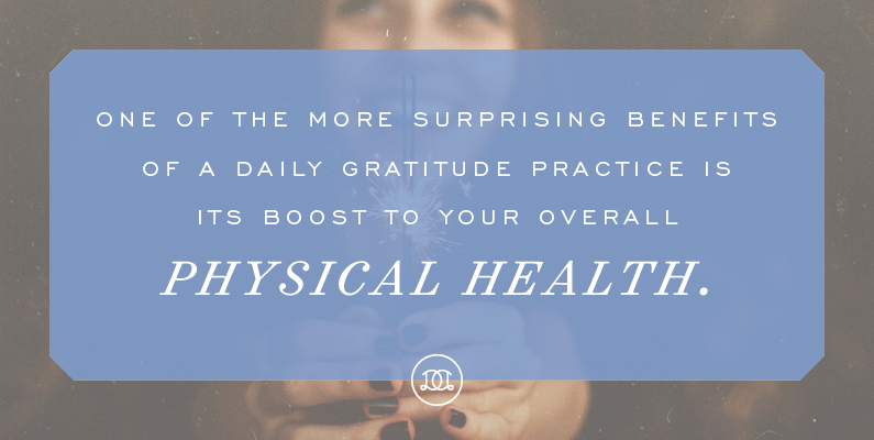 5 Physical Health Benefits of Expressing Gratitude