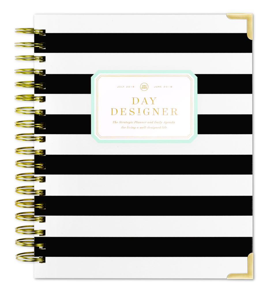 Day Designer Flagship Daily Planner | Updated Black Stripe