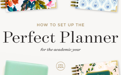 How to Set Up the Perfect Planner for the Academic Year