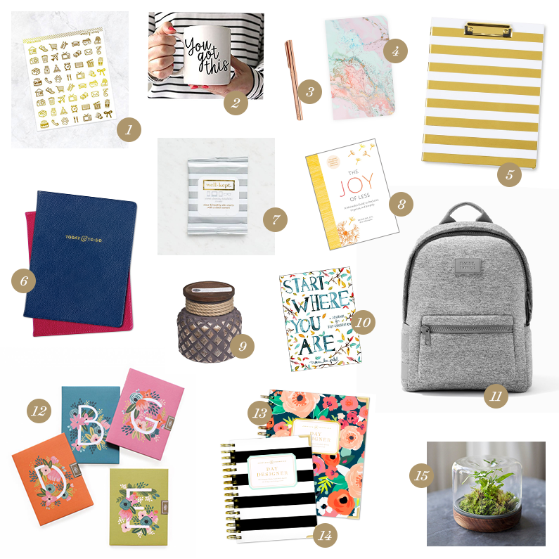 Holiday Gift Guide for the Planner Girl | Day Designer