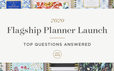 2020 Flagship Planner Launch | Top Questions Answered