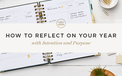 How to Reflect on Your Year With Intention and Purpose