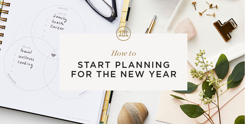 How to Start Planning for the New Year