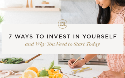 7 Ways to Invest In Yourself